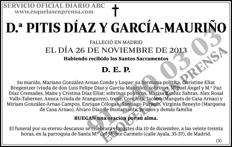 Pitis Díaz y García-Mauriño